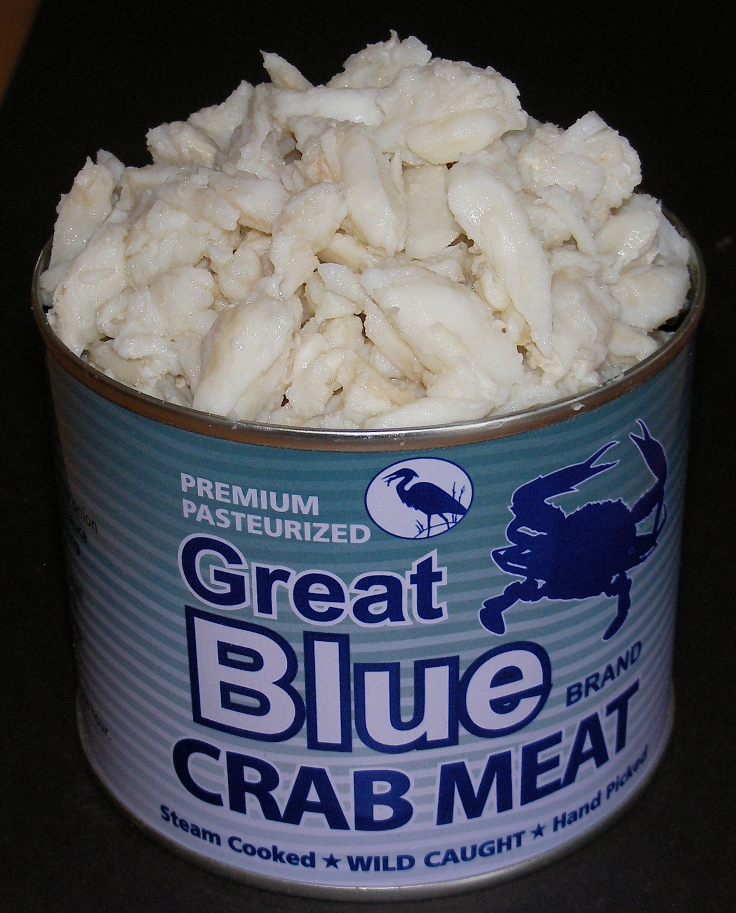 Blue Crab Meat Great Blue Brand Crab Meat